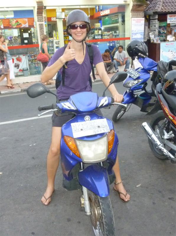 Bali en scooter51