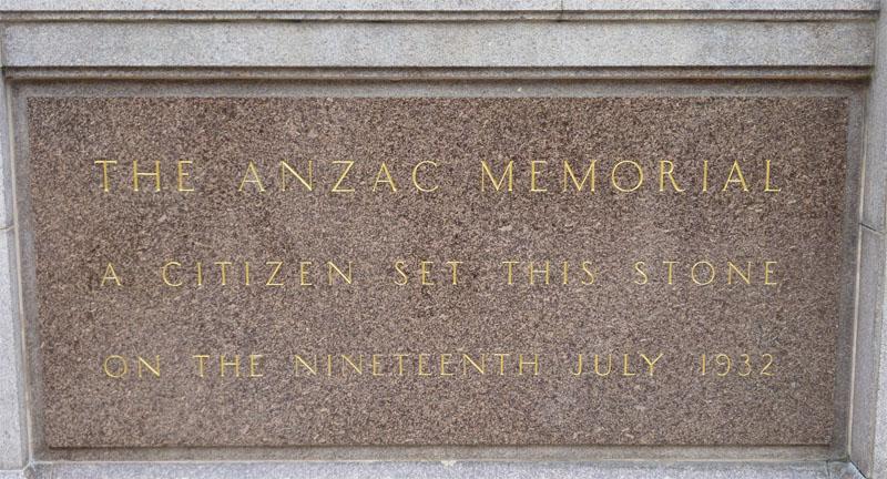Sydney - Anzac Memorial