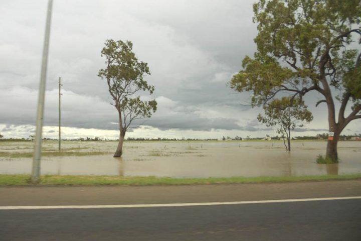 Les inondations dans le Queensland