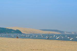 Dune du Pyla, vue de la plage du Moulleau